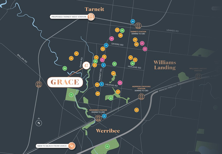 Superbly connected, Grace is located close to road, rail and world-class shopping